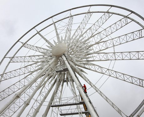 Brighton Wheel, 170ft-high seafront ferris wheel