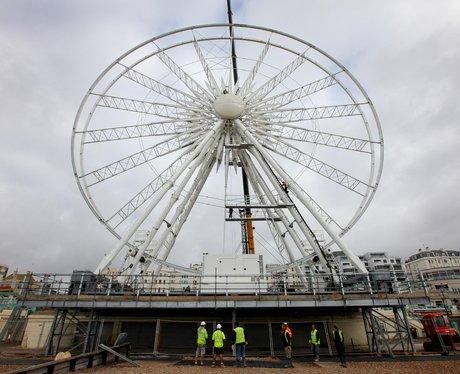 Brighton Wheel, 170ft-high seafront ferris wheel