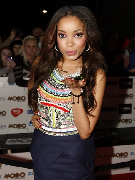 Dionne Bromfield Mobo Awards 2011