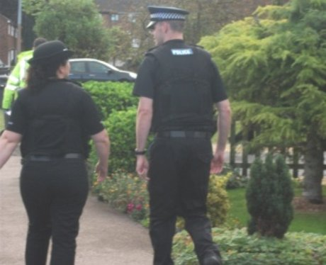 Herts Police Raid