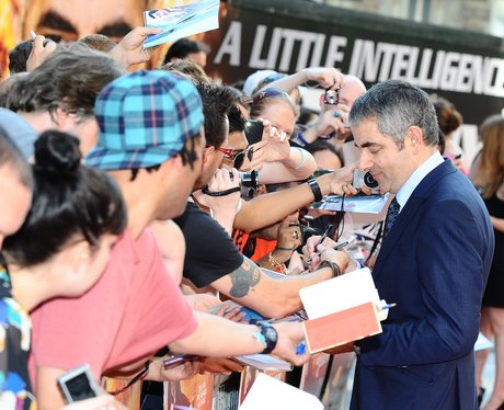 Johnny English Reborn premiere