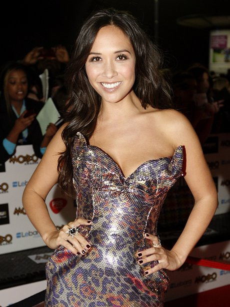 Myleene Klass Mobo Awards 2011