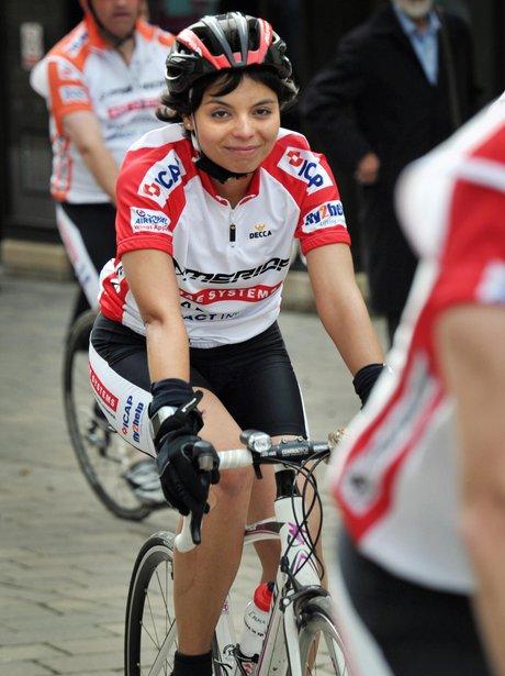 400 in 4 bike ride