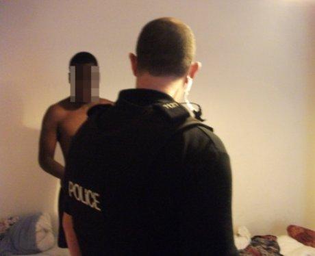 Man Arrested In Dawn Raid
