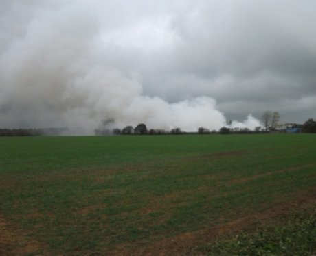 Fire At Blackbridge Farm Recycling Centre