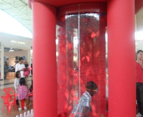 Winning Whirlwind at the Galleria