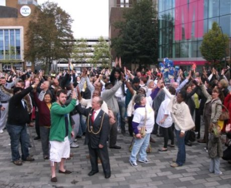 High-Five in Luton
