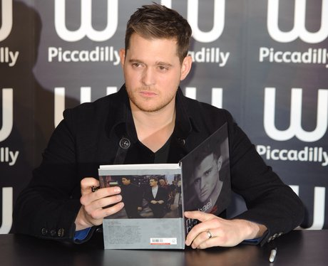 Michael Buble book signing