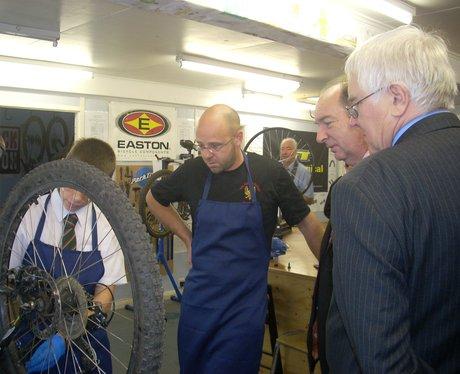 Norman Baker visits The Gilberd School