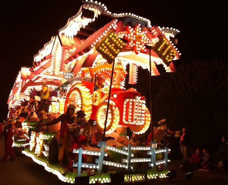 Float at Taunton Carnival 2011