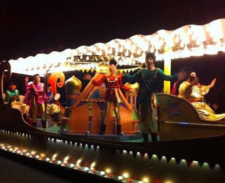 Float at Taunton Carnival 2011
