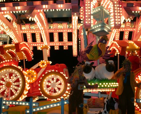 Floats at Taunton Carnival 2011
