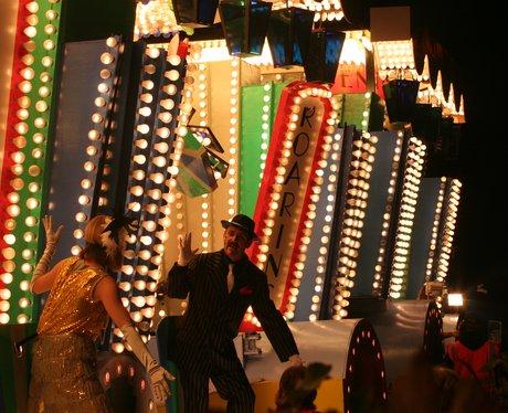 Floats at Taunton Carnival 2011