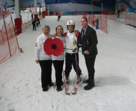 Herts Poppy Appeal Team With Max Baggio