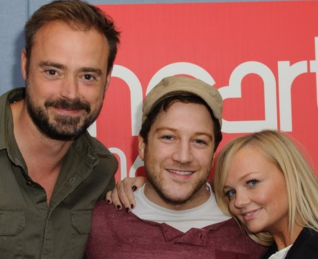 Matt Cardle in Heart Studio