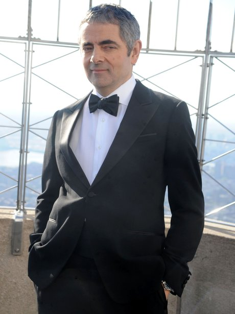 rowan atkinson in a tuxedo