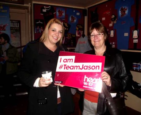 #TeamJason at New Oxford Theatre