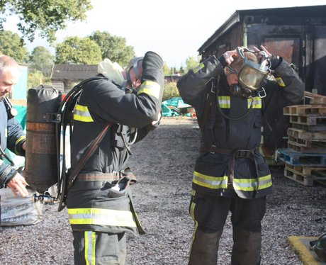Fire fighter training