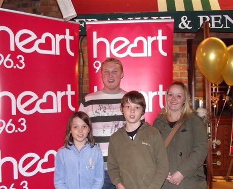 Heart at Frankie & Benny's