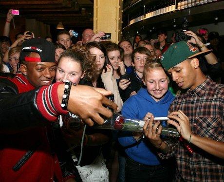JLS live in London
