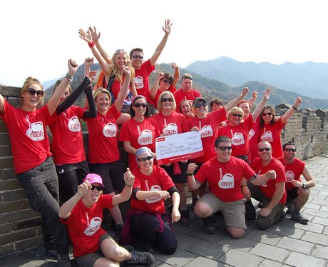 China Trekkers finish