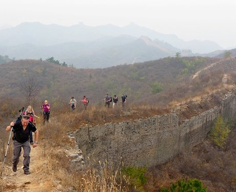 China Trekkers keep up the pace