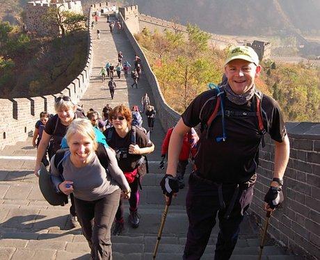 China Trekkers still smiling