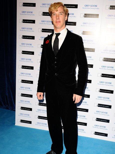 Benedict Cumberbatch Black tie