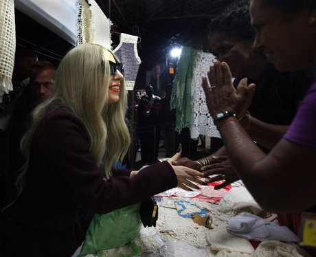 Lady Gaga in India