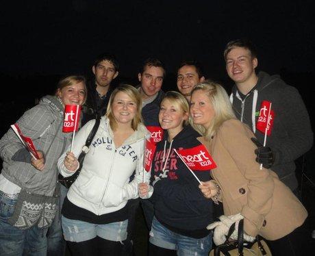 Leeds Castle Fireworks 5/11/11