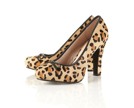 1de5a347247 Leopard print court shoes - Stylist s Corner - Heart