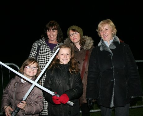 Luton Popes Meadow Fireworks