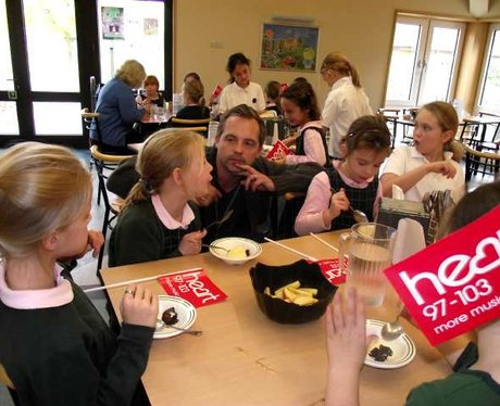 School Dinners Tour at The Manor