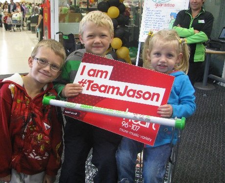 #TeamJason at ASDA Poole