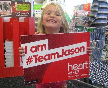 #TeamJason at ASDA Poole