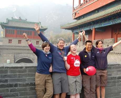 The team who lead the trekkers