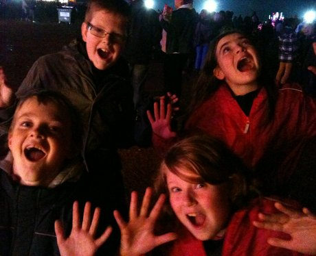 Your best firework night faces
