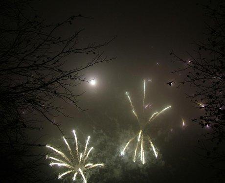 Bury St. Edmunds Fireworks