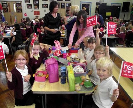 School Dinners Tout at Stockham Primary School