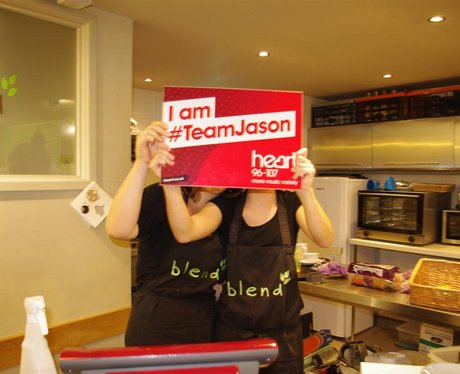 ~Team Jason fans in Christchurch