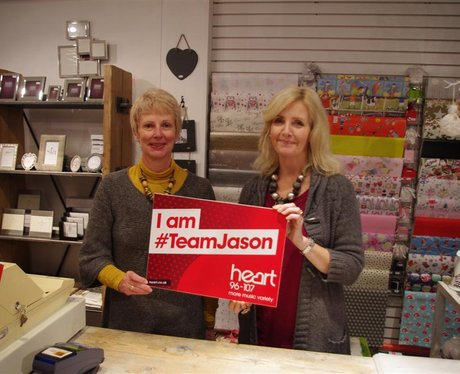 ~Team Jason fans in Christchurch