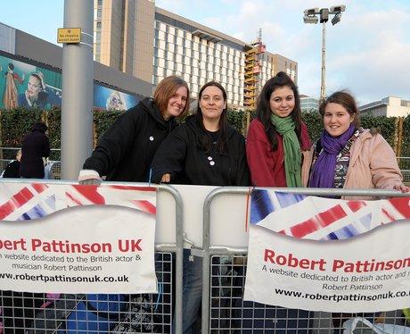 Fans Arrive For Twilight UK Premiere