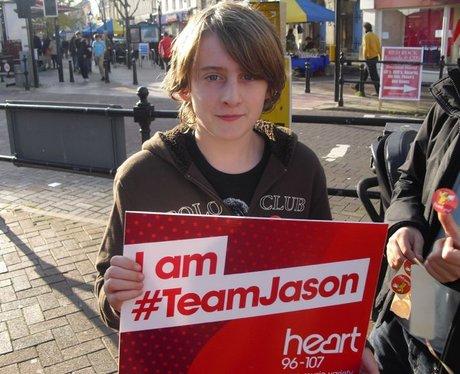 Jason Donovan fans in Poole