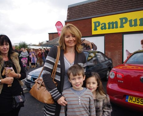 Pampurred Pets Store Opening