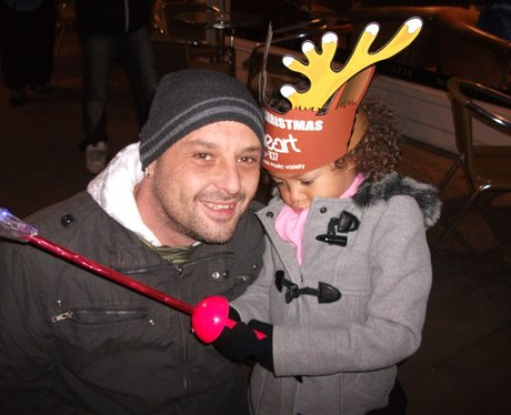 Wrexham Christmas lights 1