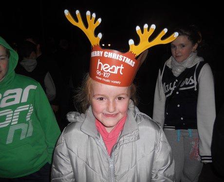 Wrexham CHristmas lights switch on 4
