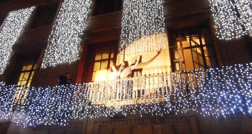 Cambridge Christmas Lights Switch On 2014 Heart Cambridge
