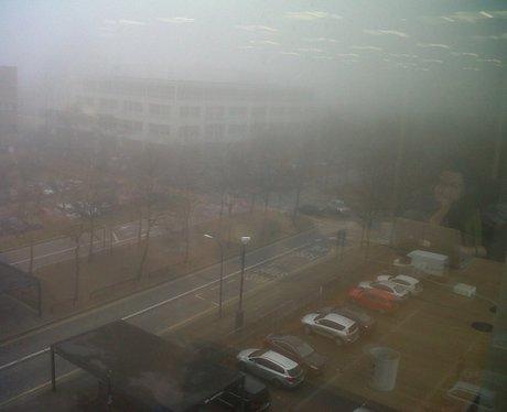 Fog in Milton Keynes