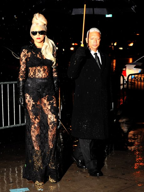 Lady Gaga in Lace