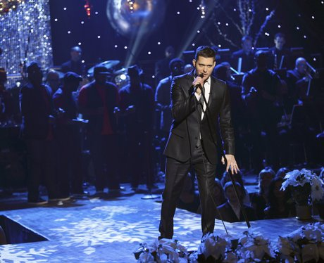 michael buble wants to make christmas magical for his family - Michael Buble Christmas Songs